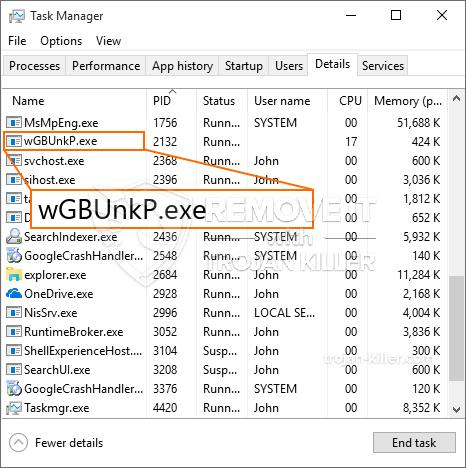 Lo que es WGBUnkP.exe?