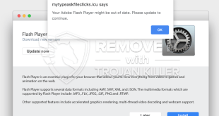 [Mytypeaskfileclicks.icu] fake Adobe Flash Player update alert removal.
