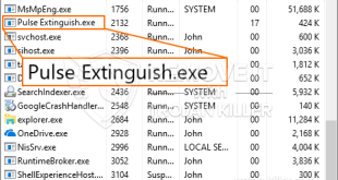 Virus Pulse Extinguish.exe Trojan coming back