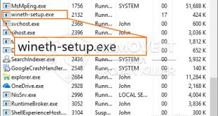 Delete Wineth-setup.exe CPU Miner