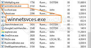 Remove Winnetsvces.exe Miner: Removal process