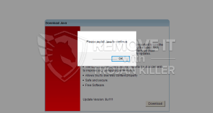 Rtrtg3.download fake Java Update alert removal.
