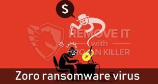 Zoro Ransomware (Restore Guide)