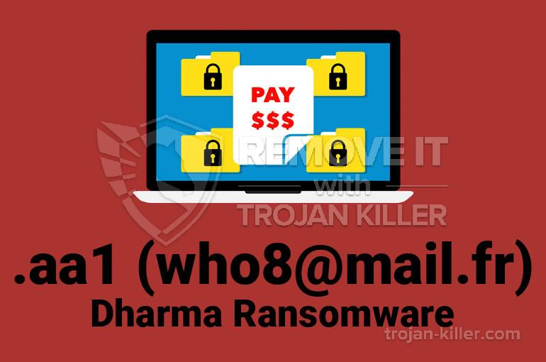 Who8@mail.fr (.AA1 파일) 바이러스