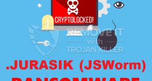 Entfernen .JURASIK Virus Ransomware (+Wiederherstellung von Dateien)