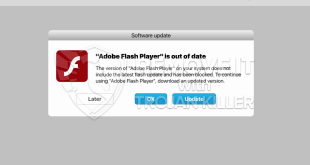 [Creep.world] la eliminación de alerta falsa actualización de Adobe Flash Player.