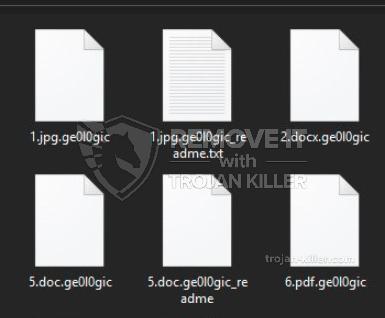 .Ge0l0gic ransomware virus