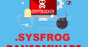 Remove .SYSFROG Virus Ransomware (+File gendannelse)