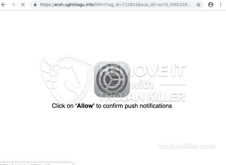 Ughitilagu.info virus