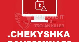 Entfernen .CHEKYSHKA Virus Ransomware (+Wiederherstellung von Dateien)