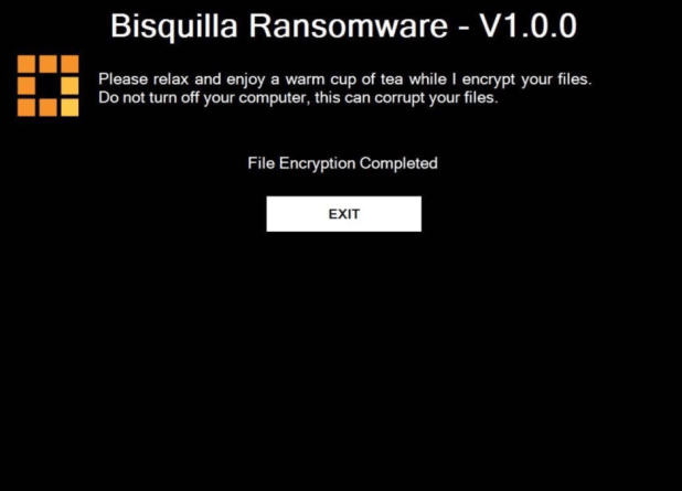 Bisquilla Ransomware V1.0.0