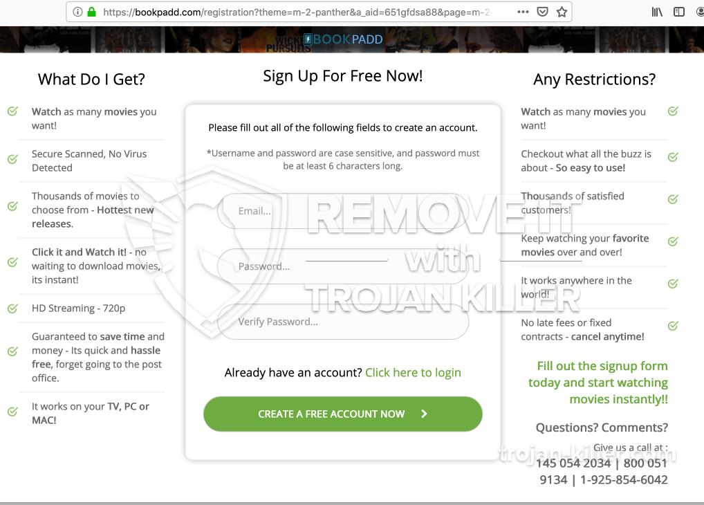 vírus Bookpadd.com