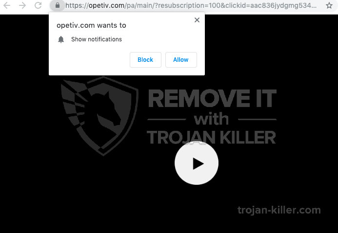 Opetiv.com virus