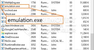 Slet Emulation.exe CPU Miner