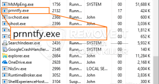 Simple Steps To Remove Prnntfy.exe CPU Miner Trojan
