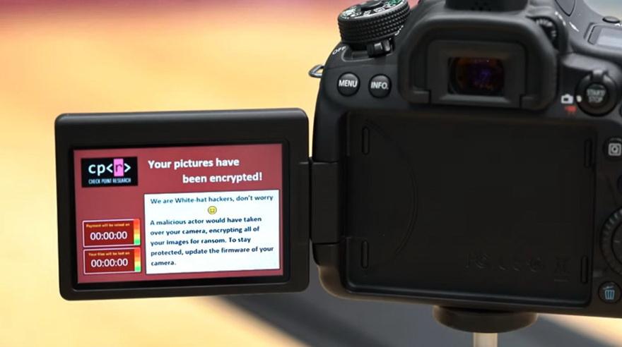 Vulnerabilities in Canon cameras