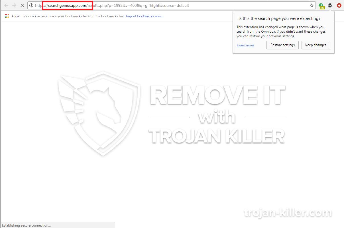 Searchgeniusapp.com virus