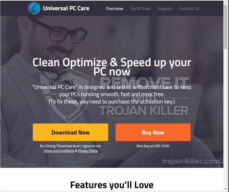 What is Universal PC Care?