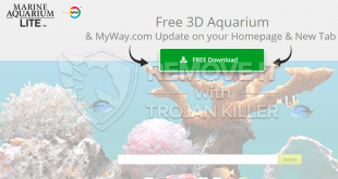 Marineaquariumfree.com을 제거하는 방법?