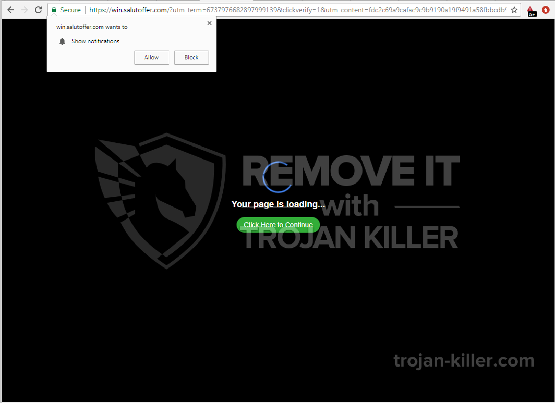 Salutoffer.com virus
