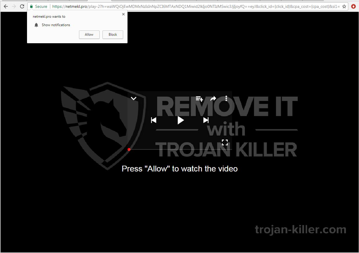 Netmekl.pro virus