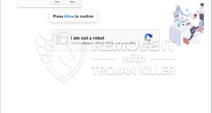 Robotornotcheckonline.xyz 표시 알림을 제거하는 방법