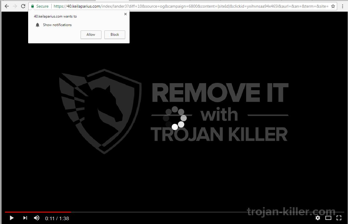 Keilaparius.com Virus