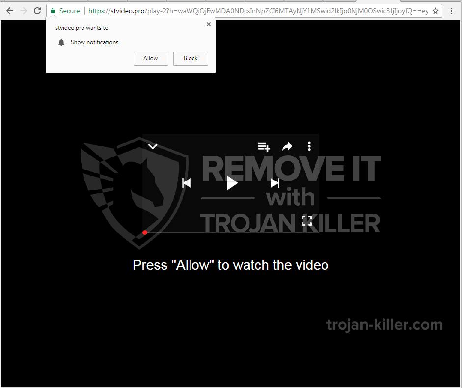 Stvideo.pro virus