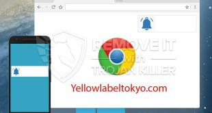 How to remove Yellowlabeltokyo.com pup-ups