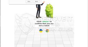 Remover notificações Androidrecaptcha.info