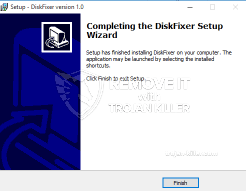 DiskFixer remove