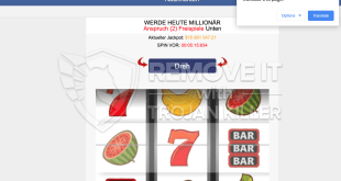 Hoe te Innovationalgazette.xyz online casino advertenties te blokkeren?