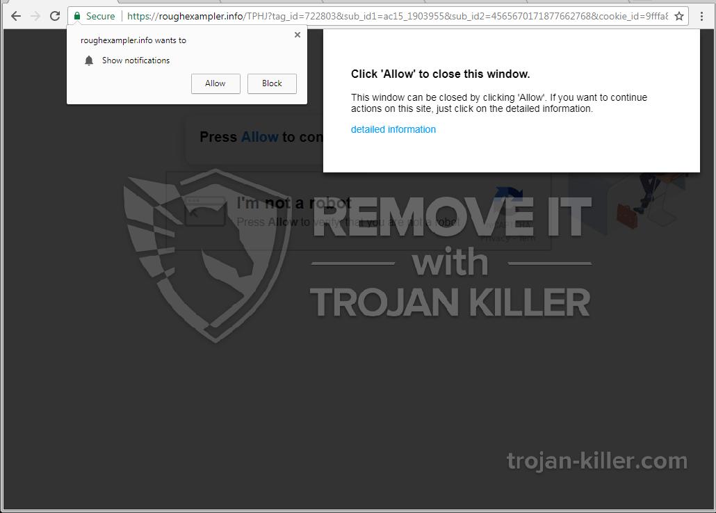 Roughexampler.info virus