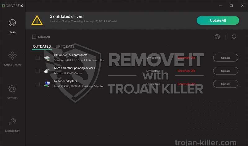 remove DriverFix