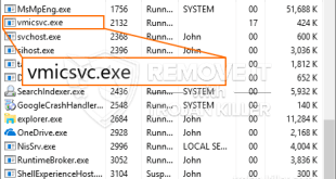Desinstalar Vmicsvc.exe CPU Miner Trojan do Windows 10
