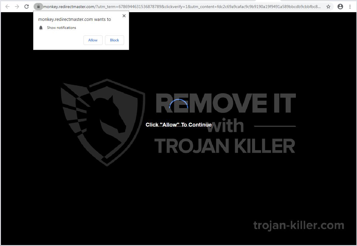 Redirectmaster.com virus