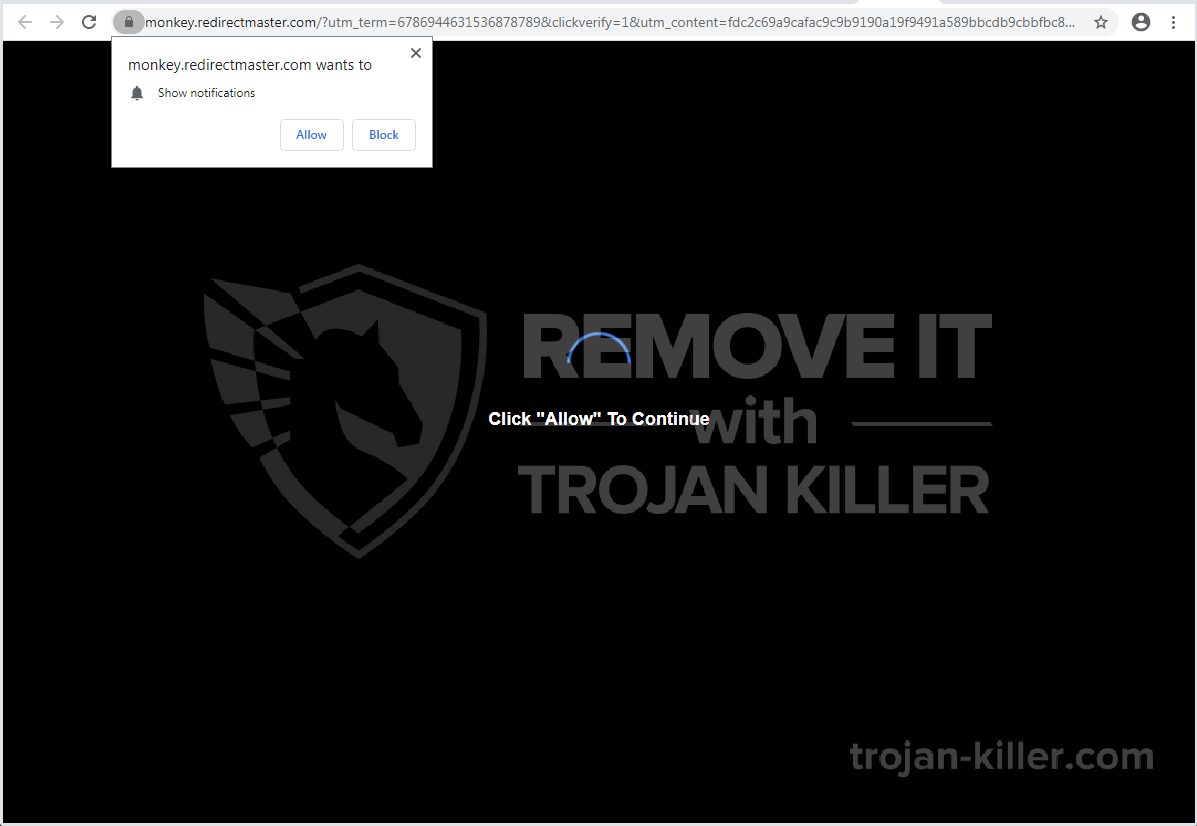Redirectmaster.com 바이러스