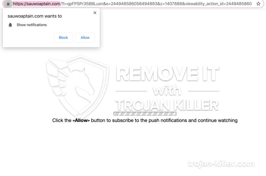 Sauwoaptain.com virus