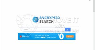 Encryptedsearch.org 제거하는 방법?