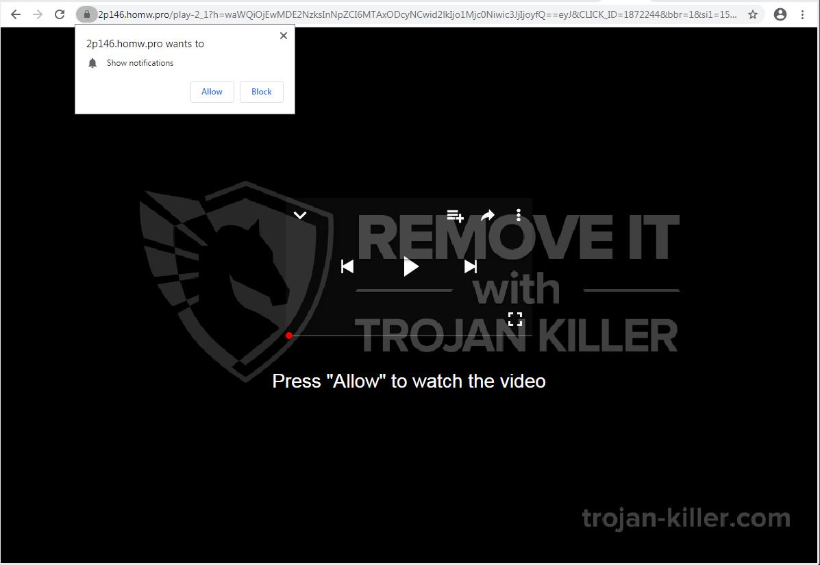 homw.pro Virus