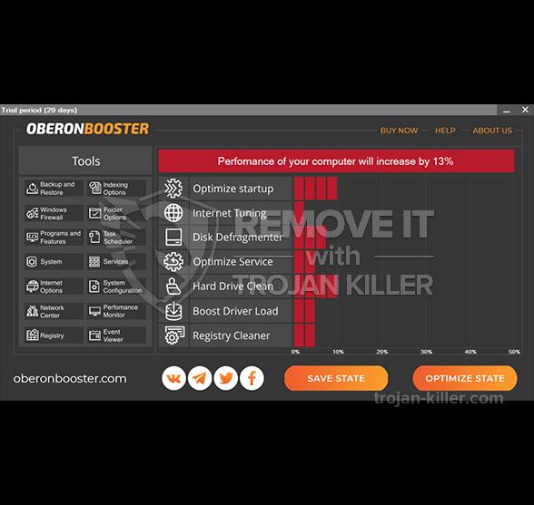 remove OberonbBooster