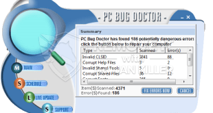 PC Bug Doktor unecht Optimierungs-Tool (Eliminationsführungs).
