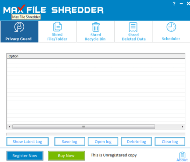 Max File Shredder