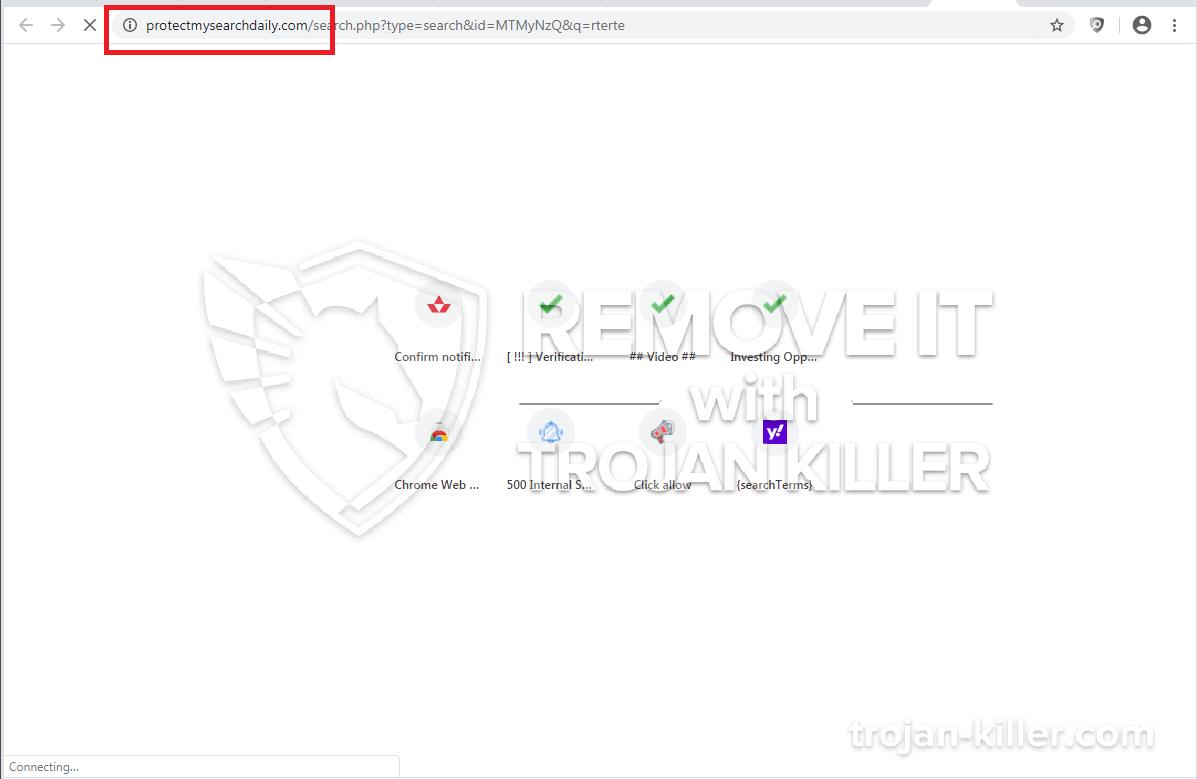 Protectmysearchdaily.com virus