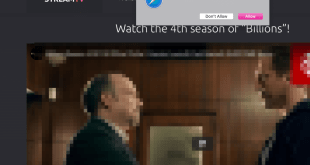 Streamtv.by HD streaming waarschuwingen