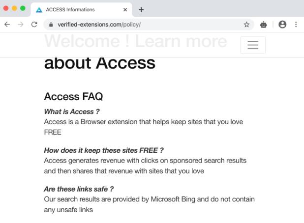 Access + secuestrador