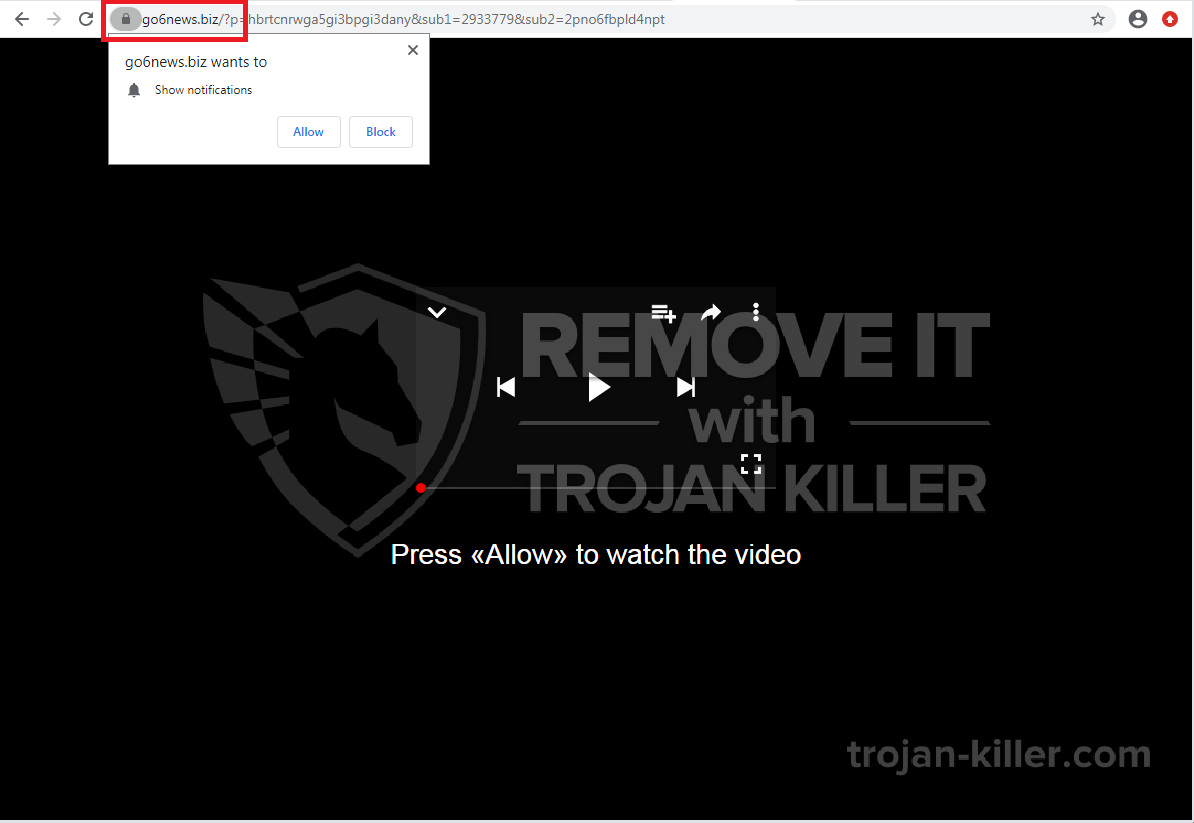 Go6news.biz virus