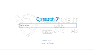 Manera de deshacerse de Search-7.com?