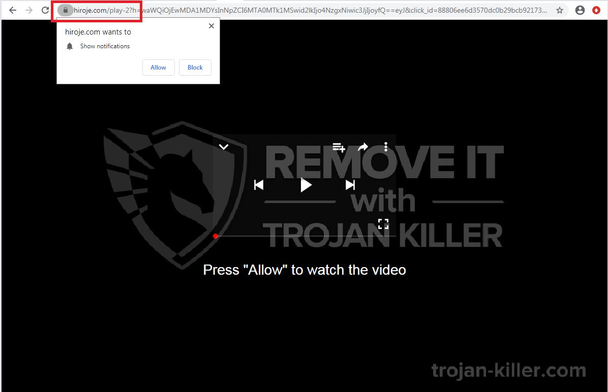 Hiroje.com virus