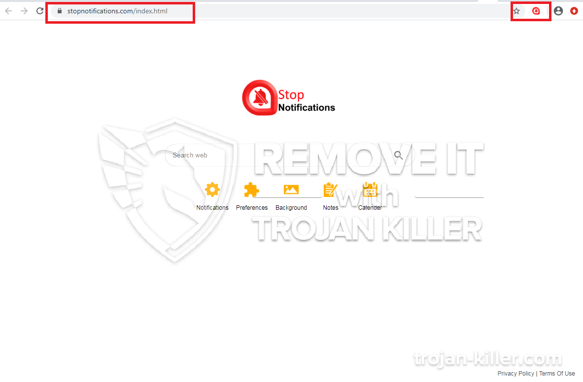 Stopnotifications.com virus